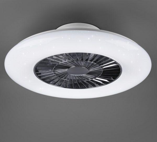 Plafondventilator Breeze Air zonder bladen en met licht