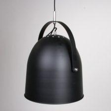 Cooner hanglamp zwart 1 lichts 34 cm