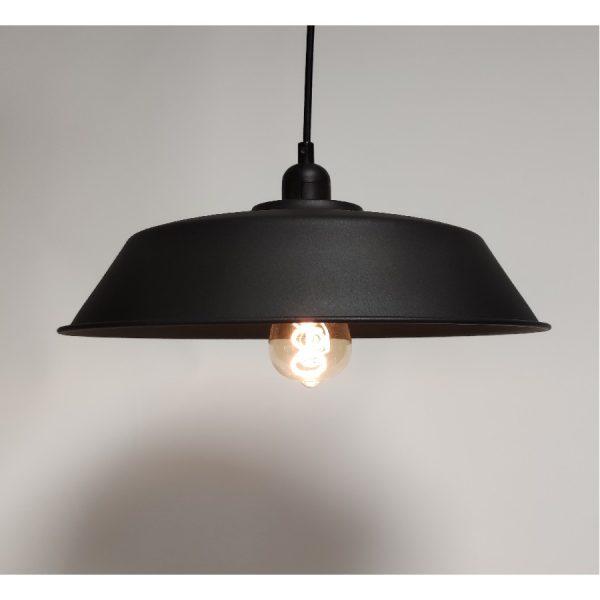 Hanglamp Bes Vintage zwart 36cm