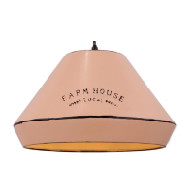 Hanglamp Jesse Vintage Roze farmhouse