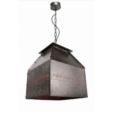 Hanglamp Vintage Box