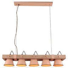 Hanglamp Vintage Jesse roze 5l