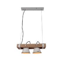 Hanglamp Vintage Jesse wit 2l