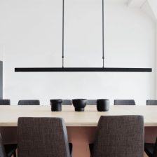 HL Real Wood black+black nikkel 167cm 32W 2200-2700K 4450Lm DTW