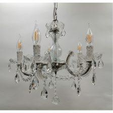 kroonluchter 5 lichts kristal Maria Theresa