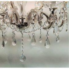 kroonluchter 9 lichts kristal Maria Theresa
