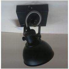 LED spot Santo zwart PL 7601 Z dimbaar