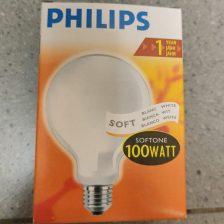 Philips globe 95mm 100w softone/opaal E27 (6-9951003) 18-9951003