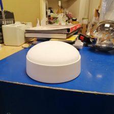 Plafondventilator Cetus wit met lamp F 5801 W OP VOORRAAD