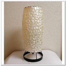 Tafellamp nachtkastlamp bedlamp Den Haag wit 29,5cm schelpenlamp (kopie)
