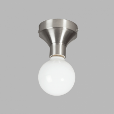 Tasso Plafondlamp E27 staal