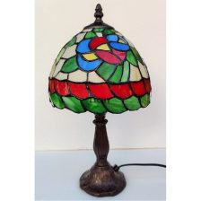 Tiffany tafellamp kleur 33cm hoog