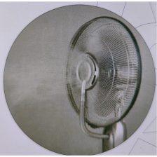 Vloer ventilator Andre met luchtbevochtiger en afstandbediening
