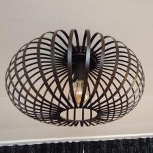 aglio plafondlamp bruin