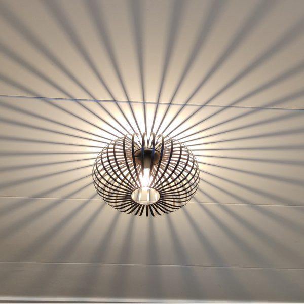 aglio plafondlamp aan