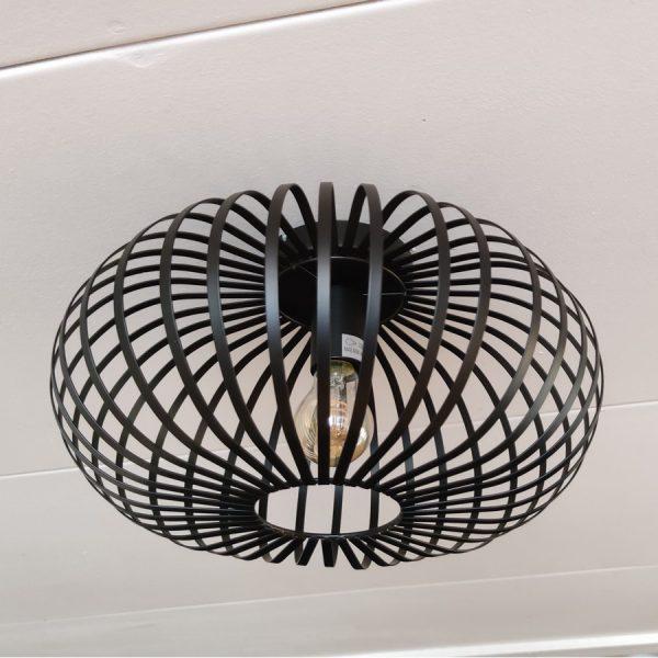 aglio plafondlamp zwart