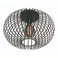agli plafondlamp zwart 40cm